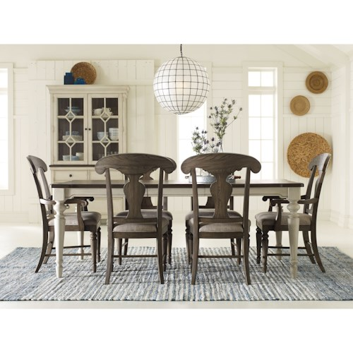 Legacy Classic Brookhaven Formal Dining Room Group