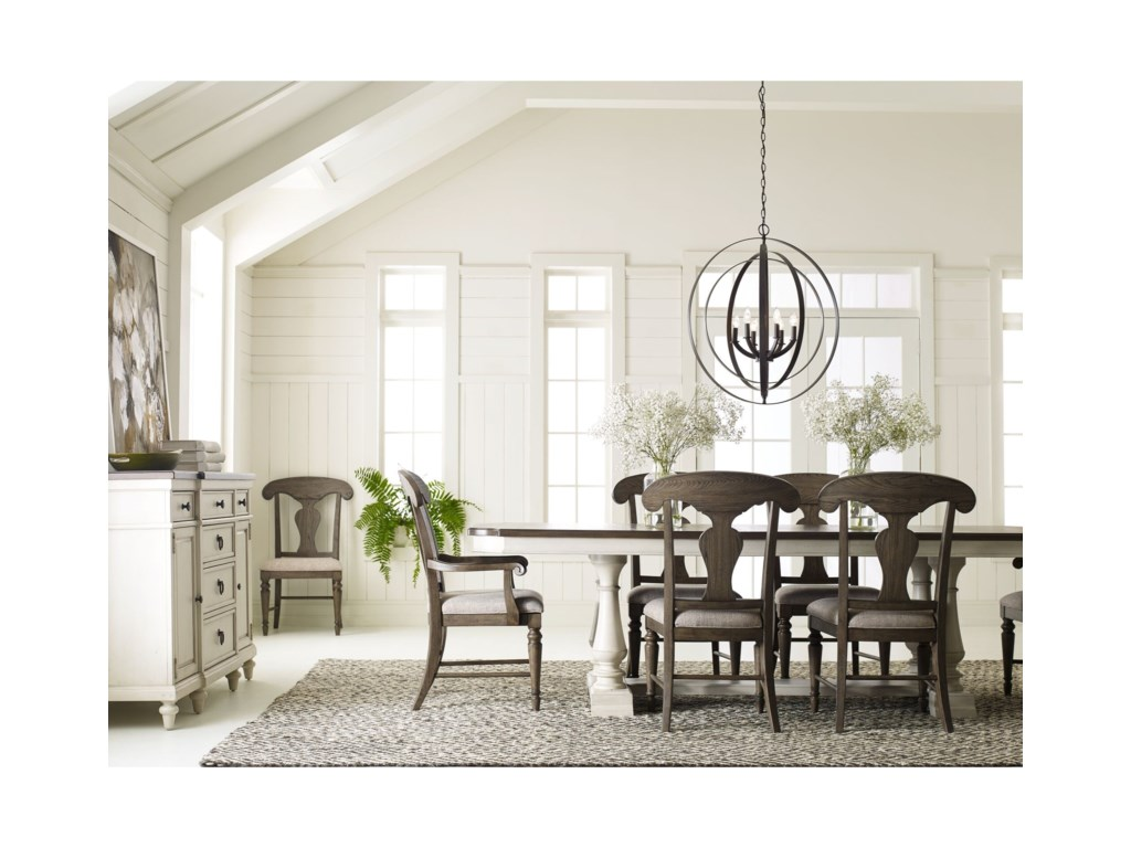 Legacy Classic BrookhavenFormal Dining Room Group