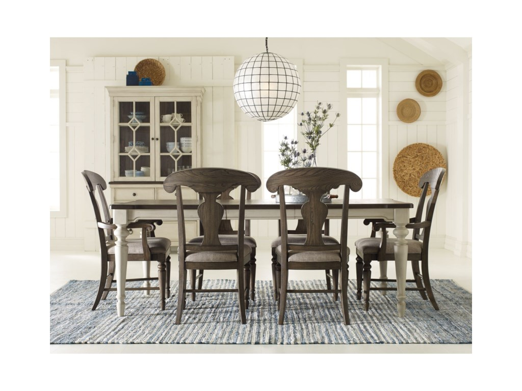 Legacy Classic Brookhaven7 Piece Rectangular Table Set