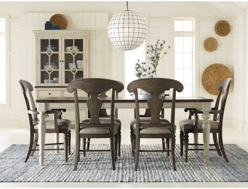 Legacy Classic Brookhaven 7 Piece Rectangular Table Set