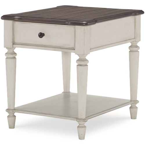 Legacy Classic Brookhaven End Table with Drawers