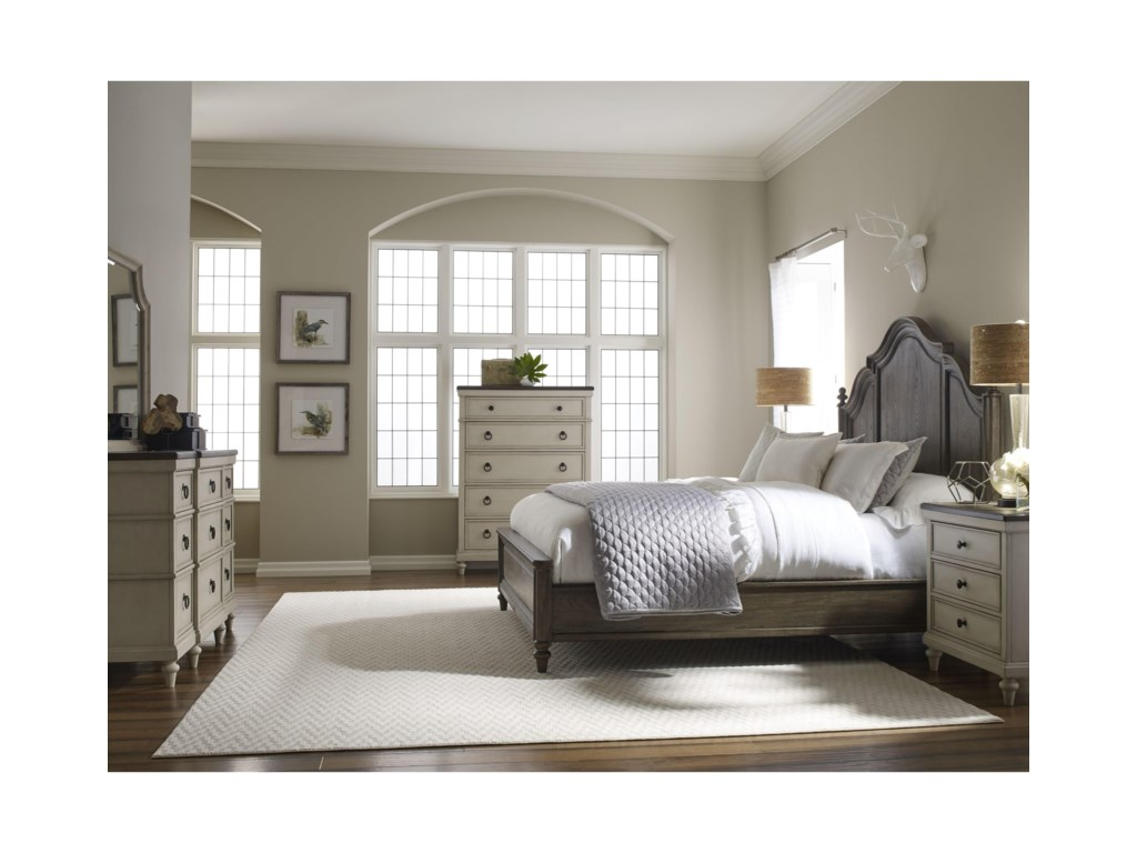 Legacy Classic BrookhavenCalifornia King Panel Bed