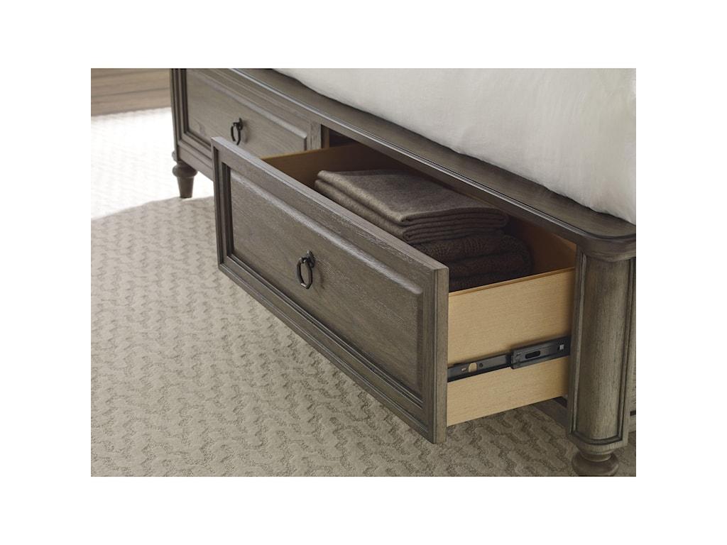 Legacy Classic BrookhavenCalifornia King Panel Storage Bed