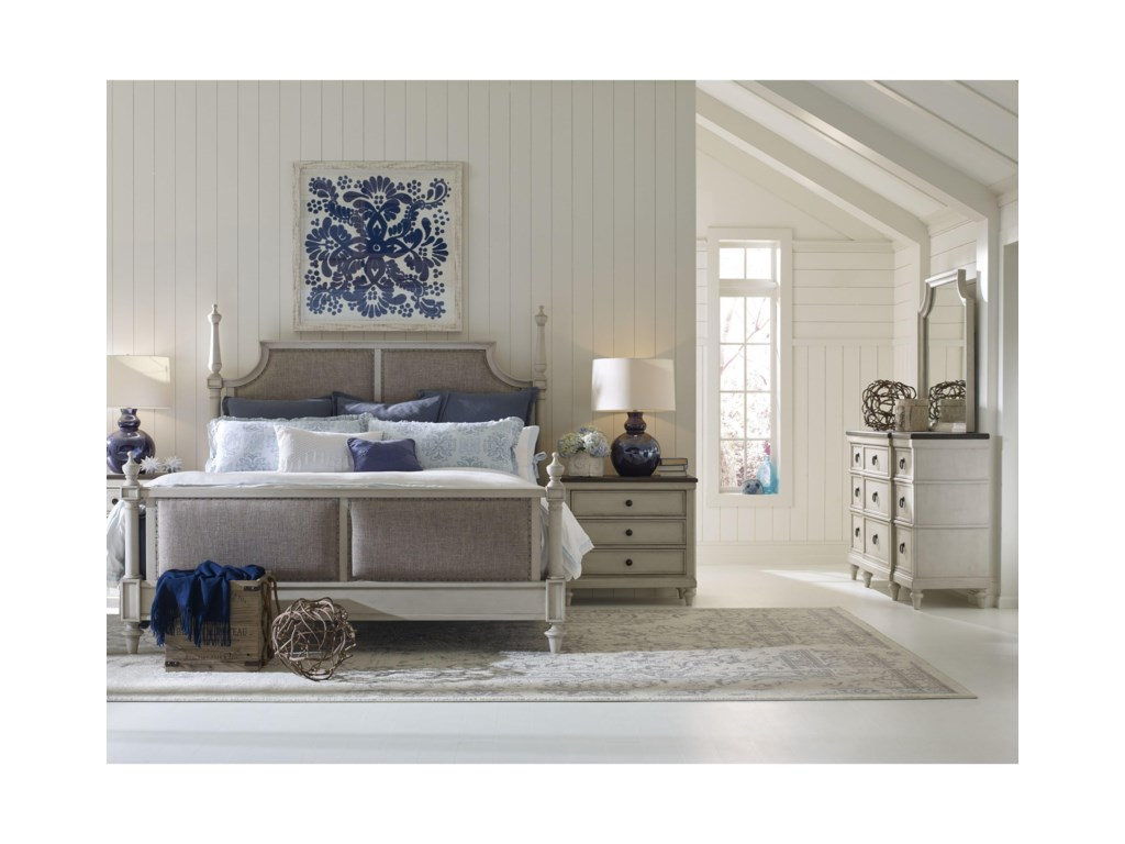 Legacy Classic BrookhavenCalifornia King Upholstered Bed