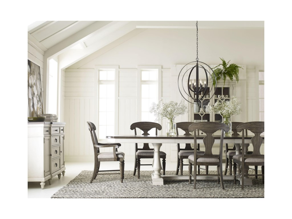 Legacy Classic BrookhavenTrestle Table