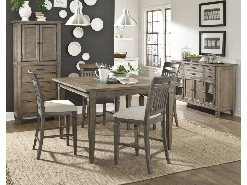 Shown with Pantry Cabinet, Pub Table and Pub Chairs