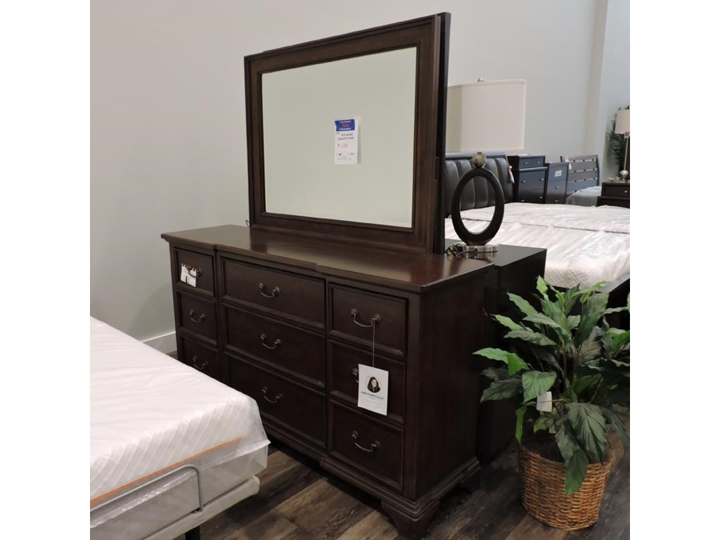 Legacy Classic ClearanceDresser and Mirror