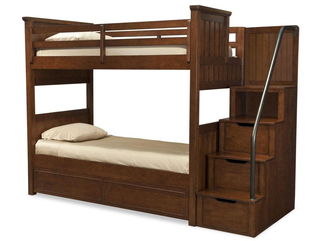 Shown with Twin-over-Twin Bunk