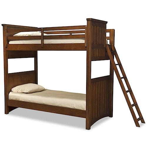 Legacy Classic Kids Dawson's Ridge Full-over-Full Bunk with Ladder