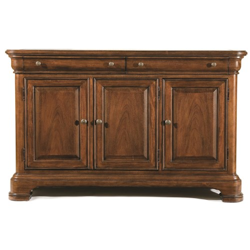 Legacy Classic Eternity Two Drawer Credenza with Marble Top