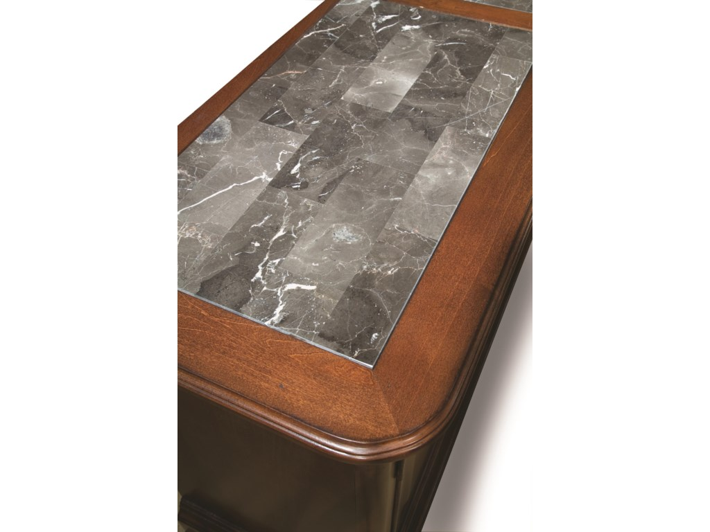 Legacy Classic EvolutionCredenza with Marble Top
