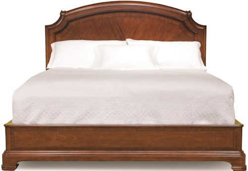 Legacy Classic Evolution King-Size Scroll Top Platform Bed