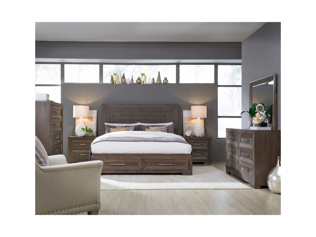 Legacy Classic FacetsQueen Bedroom Group