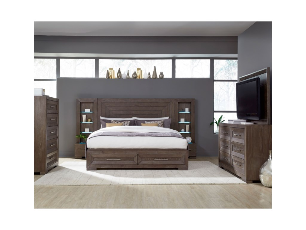 Legacy Classic Facets Queen Bedroom Group | Dean Bosler's