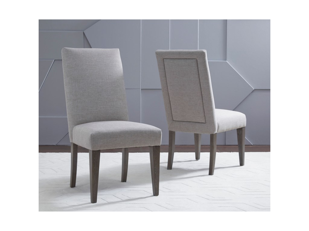 Legacy Classic FacetsUpholstered Back Side Chair