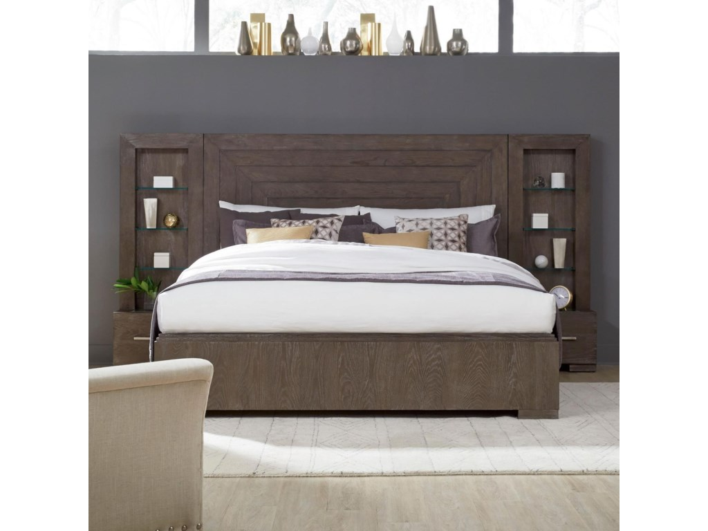 Legacy Classic FacetsKing Wall Panel Bed