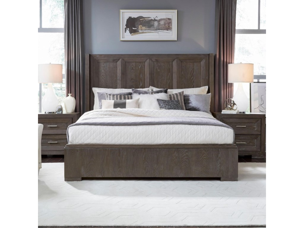 Legacy Classic FacetsCalifornia King Shelter Bed