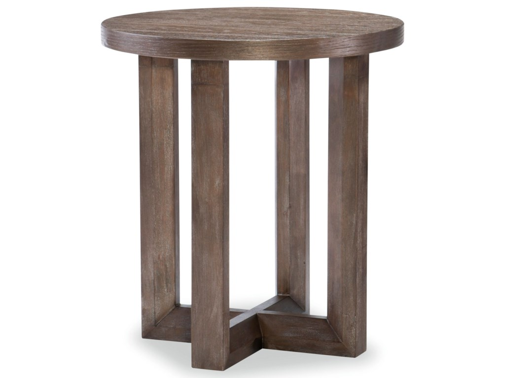 Legacy Classic FacetsRound End Table