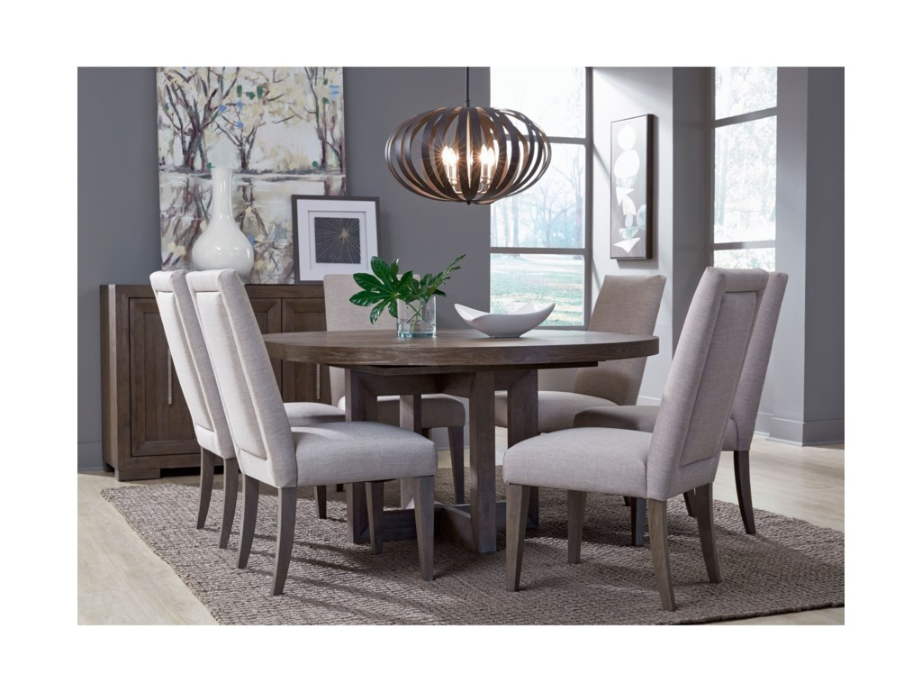Legacy Classic Facets7-Piece Table and Chair Set