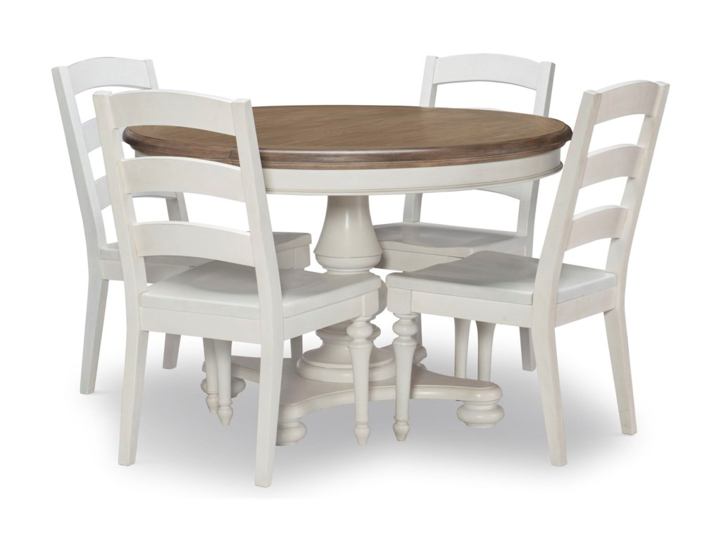 Legacy Classic Farmdale5-Piece Round Table and Chair Set