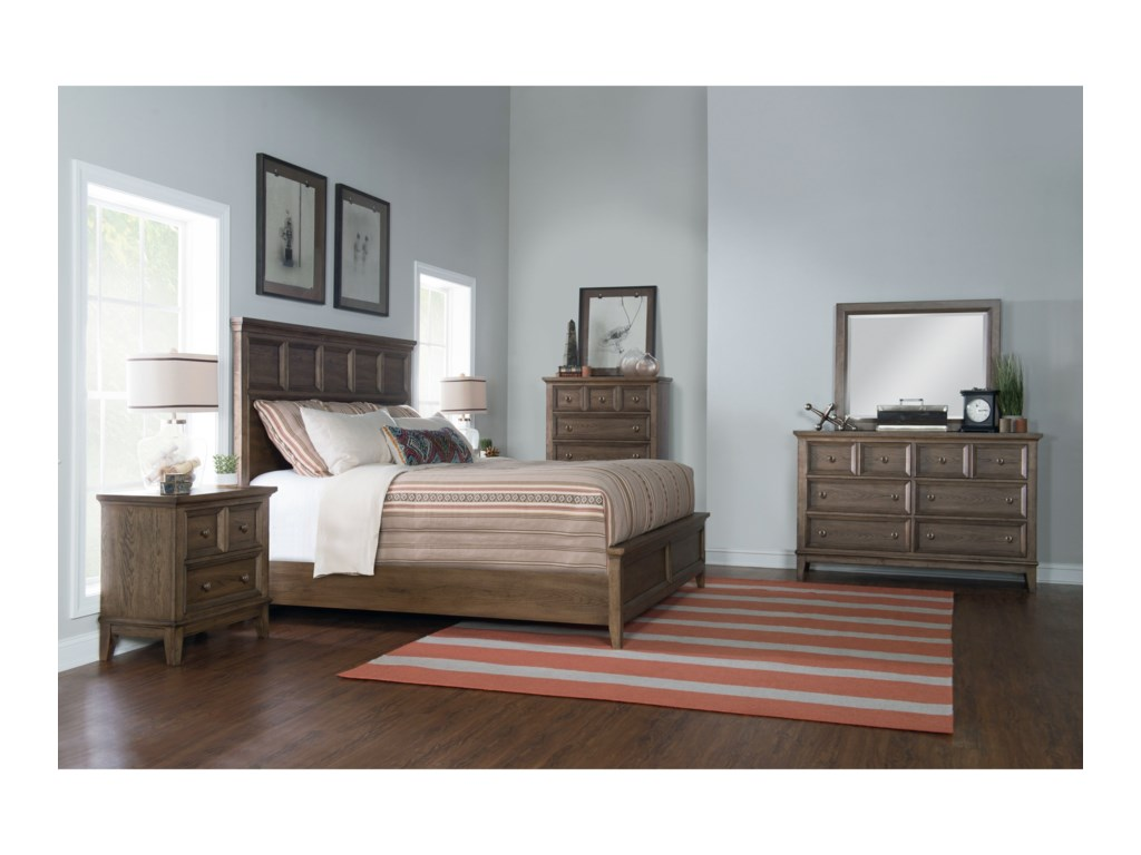 Legacy Classic Forest HillsCalifornia King Panel Bed