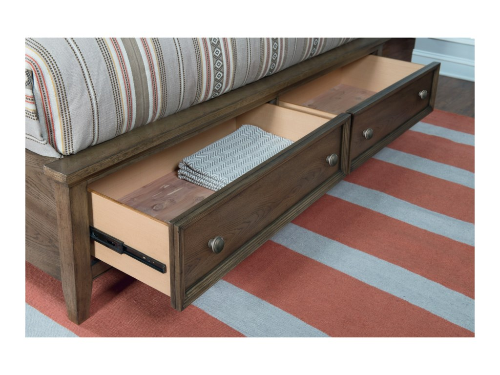 Legacy Classic Forest HillsQueen Storage Bed