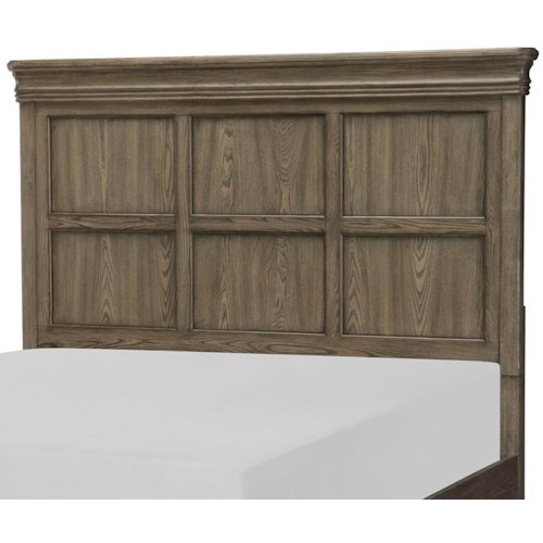 Legacy Classic Hartland Hills Transitional Queen Panel Headboard