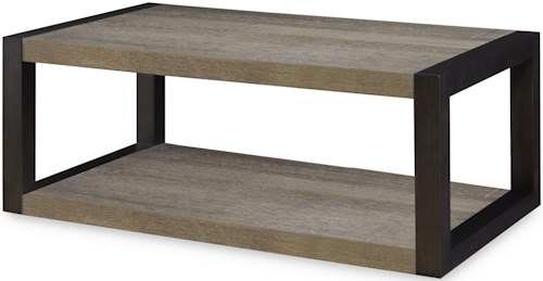 Legacy Classic Helix Rectangular End Table with Shelf