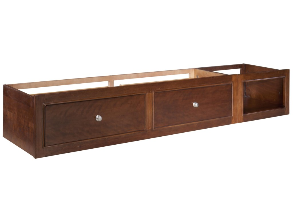 Drawers For Under Bed Legacy Classic Kids Impressions Underbed Storage Unit With 2