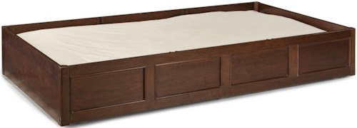 Legacy Classic Kids Impressions Trundle/Storage Drawer with 2 Removable Storage Dividers and Casters