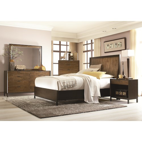 Legacy Classic Kateri Cal. King Panel Bedroom Group