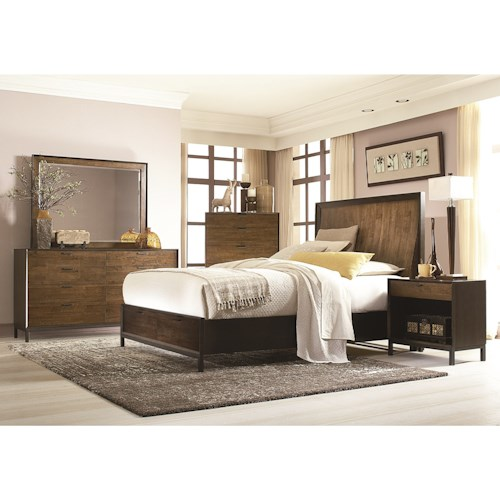 Legacy Classic Kateri Cal. King Panel Storage Bedroom Group