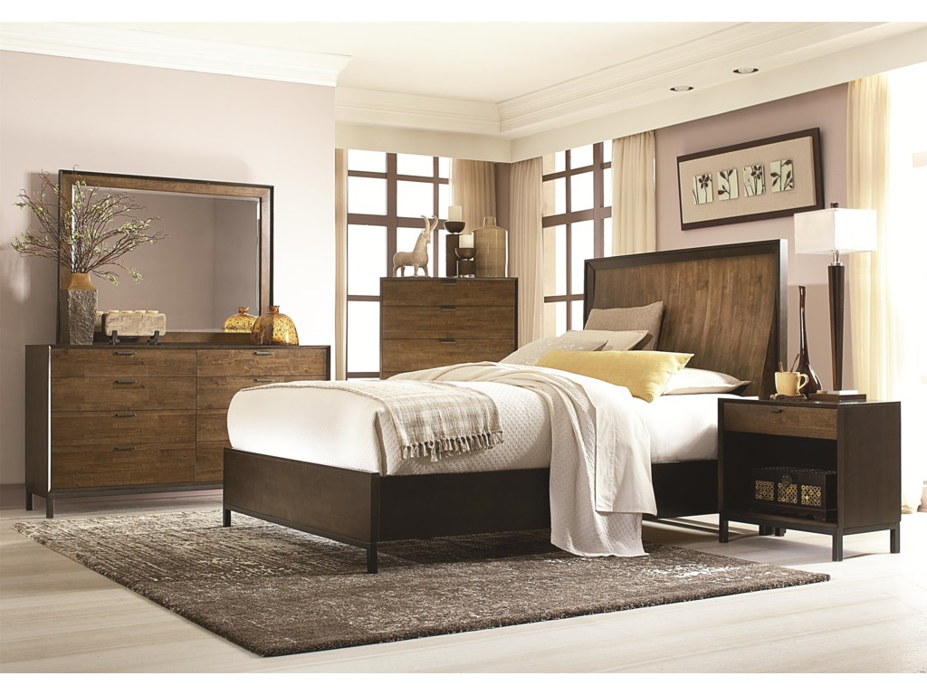 Legacy Classic KateriKing Panel Bedroom Group