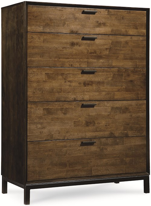 Legacy Classic Kateri Drawer Chest with 5 Drawers and Bronze Drawer Pulls