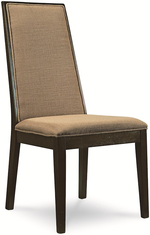 Legacy Classic Kateri Side Chair with Upholstered Back and Seat