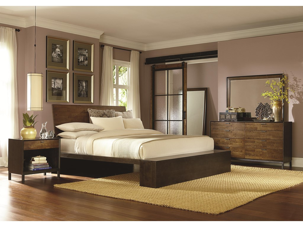 Legacy Classic KateriCal. King Platform Bed