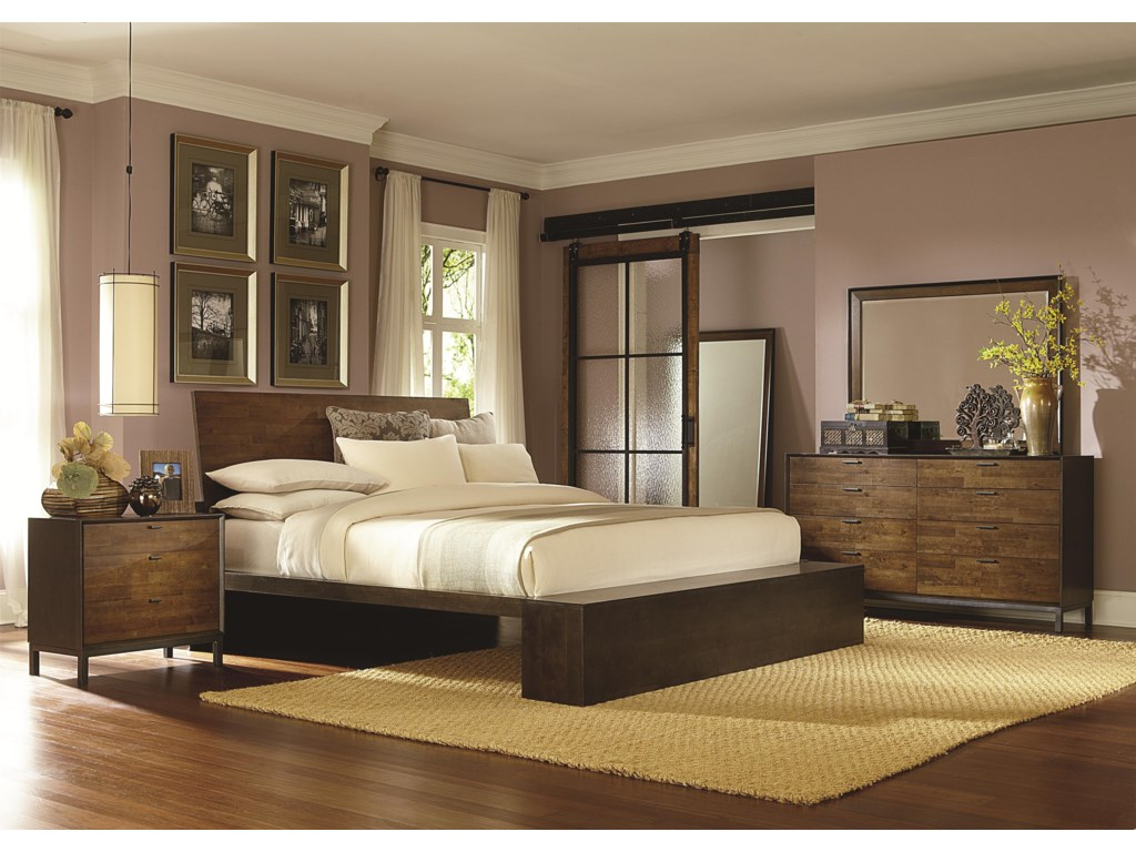 Legacy Classic KateriKing Platform Bed