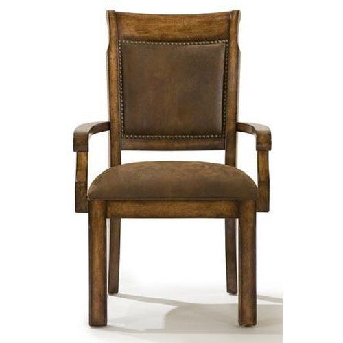 Legacy Classic Larkspur Upholstered Back Arm Chair