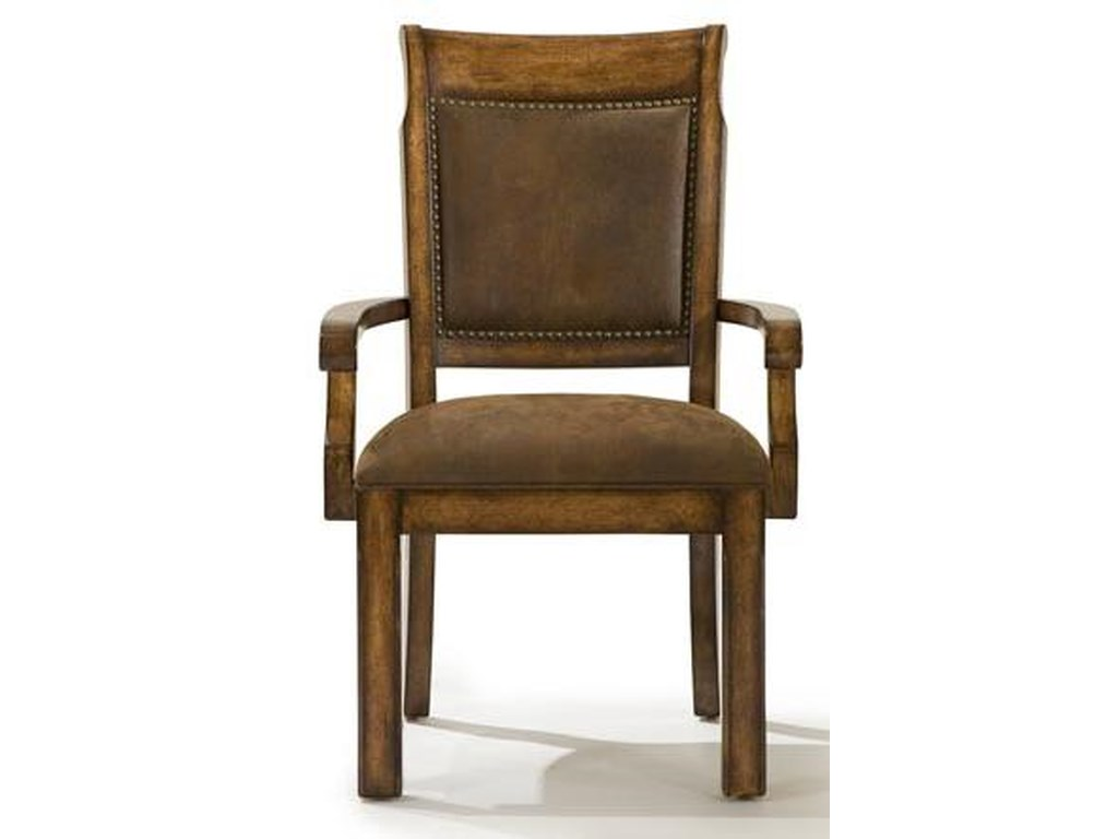 Legacy Classic LarkspurUpholstered Back Arm Chair