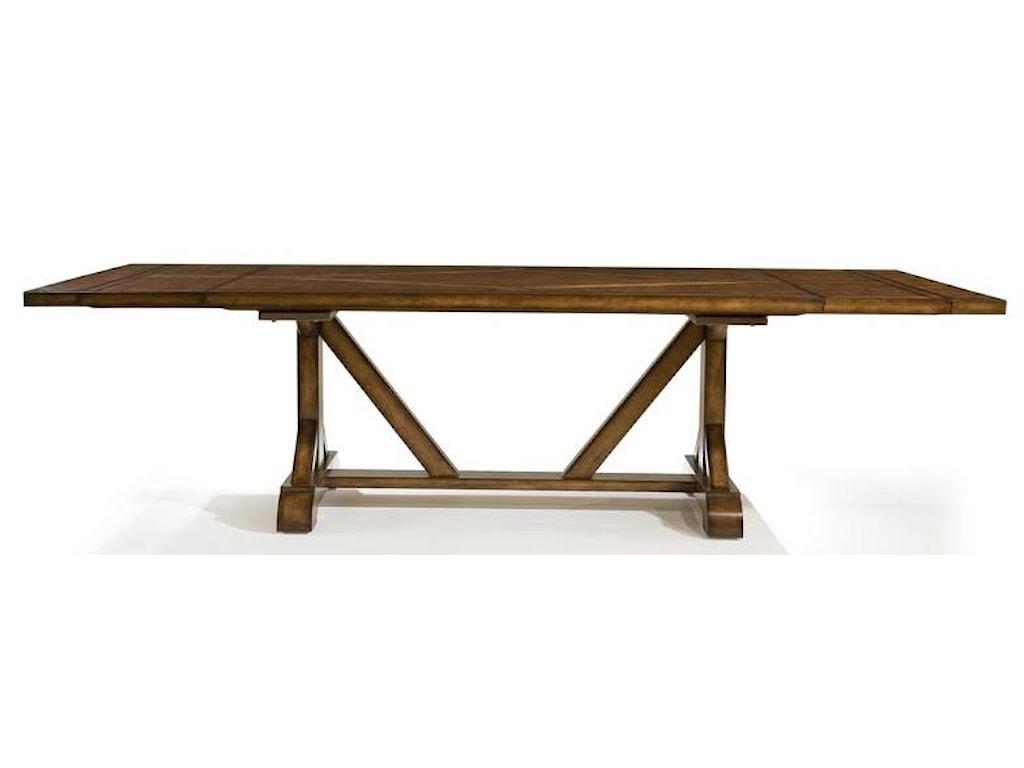 Legacy Classic LarkspurRectangular Trestle Table