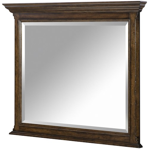 Legacy Classic Latham Dresser Mirror with Crown Molding