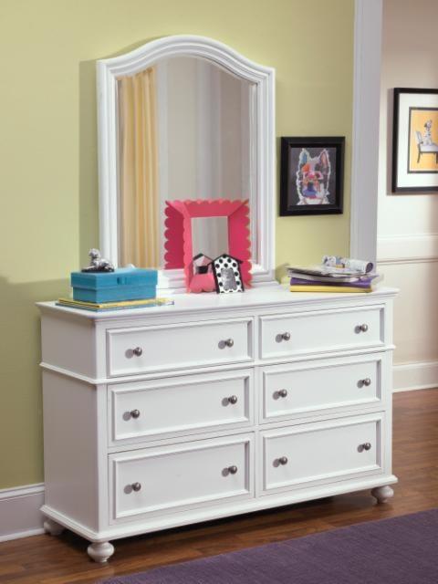 Legacy Classic Kids MadisonArched Dresser Mirror