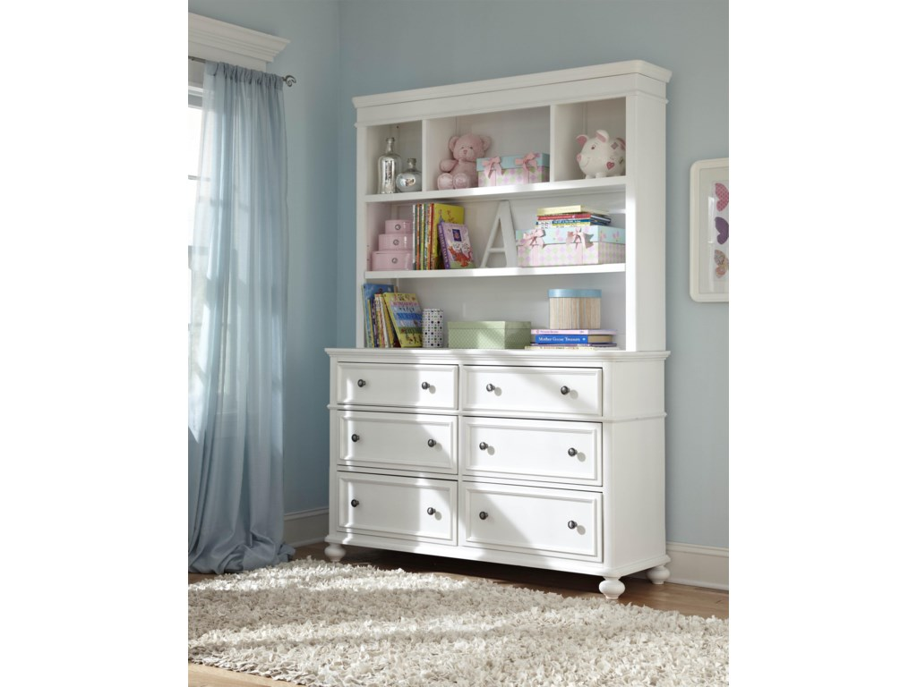 Legacy Classic Kids MadisonDresser and Bookcase Hutch