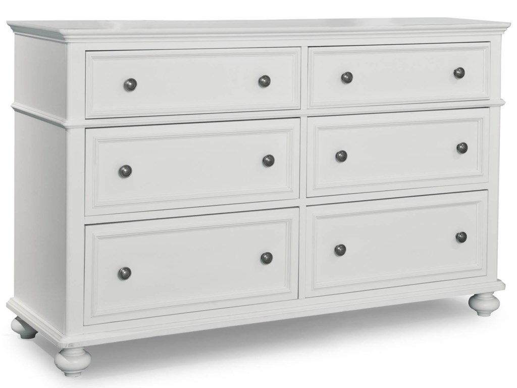 Legacy Classic Kids MadisonDresser with 6 Drawers
