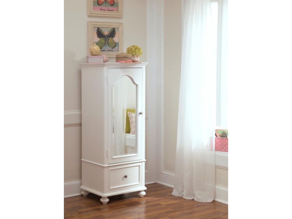 Legacy Classic Kids MadisonWardrobe With Mirrored Door