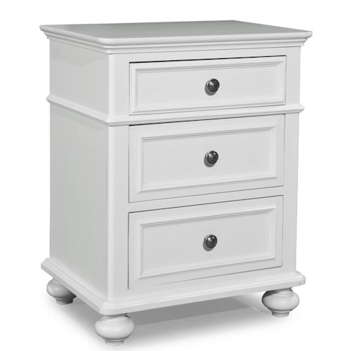 Legacy Classic Kids Madison Classic Nightstand with 3 Drawers