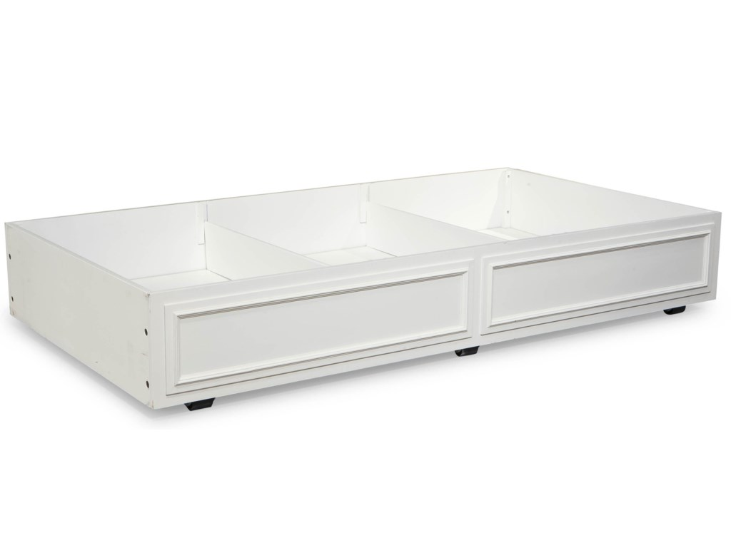 Trundle Drawer with Storage Dividers