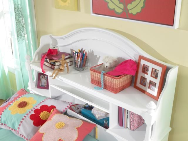 View of Bookcase Headboard