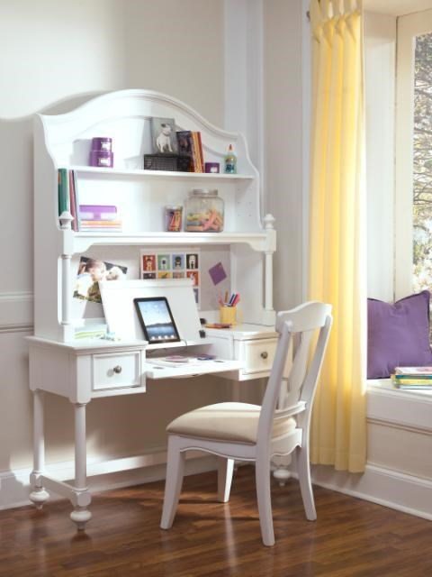 Shown with Desk and Hutch