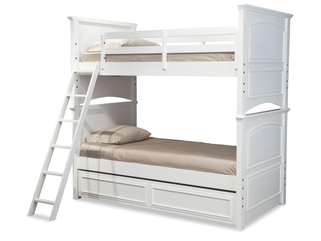Legacy Classic Kids MadisonComplete Twin over Full Bunk Bed w/ Trundle